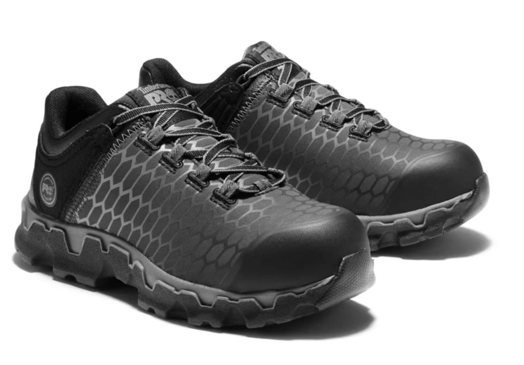 Women's Timberland PRO® Powertrain Sport Alloy Toe EH Work Shoes, best steel toe shoes for women