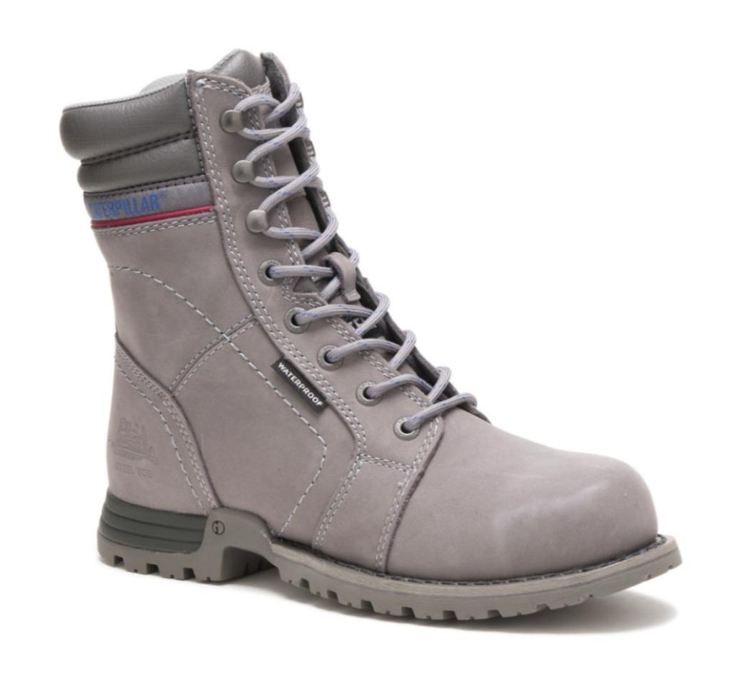 Women's Echo Waterproof Steel Toe Work Boot; best steel toe shoes for women