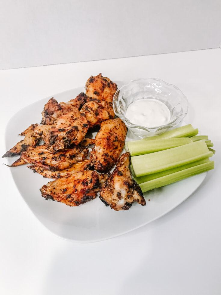 Air Fryer Chicken Wings Recipe | Easy