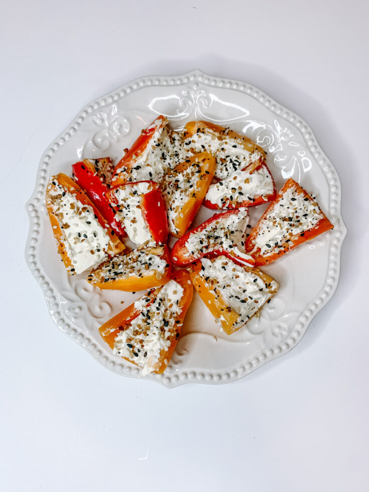 Everything Bagel Mini Peppers Recipe