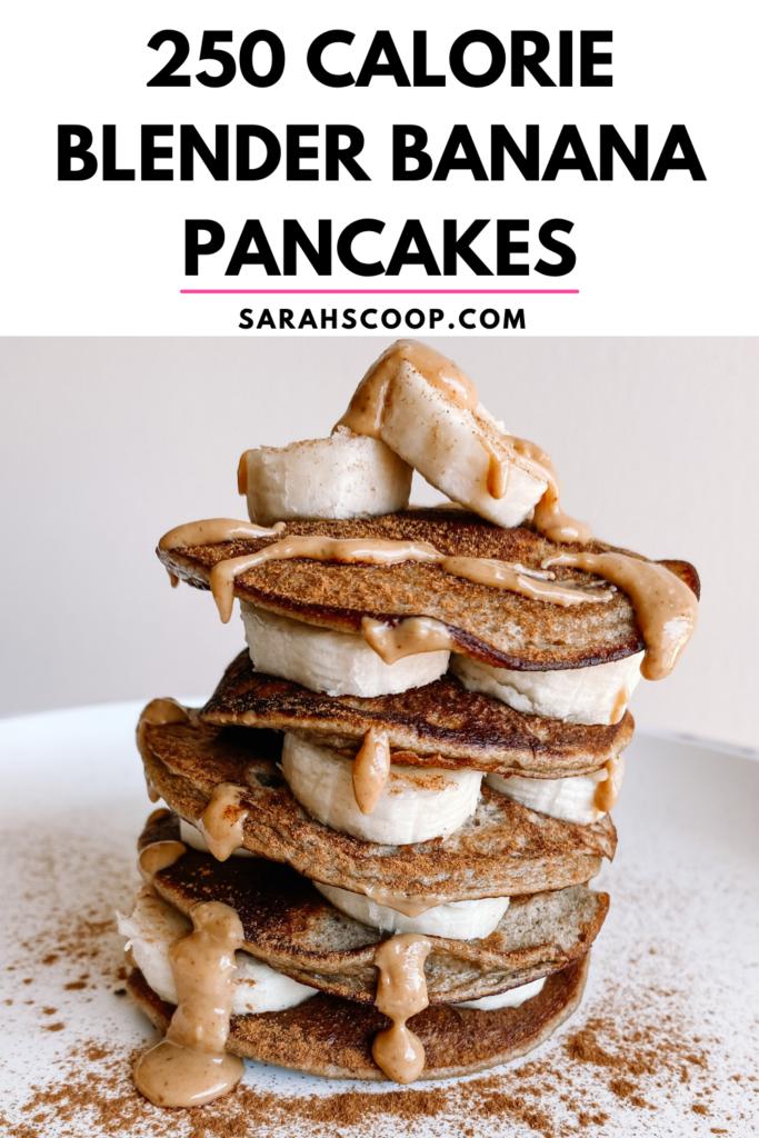 Banana pancake Pinterest image