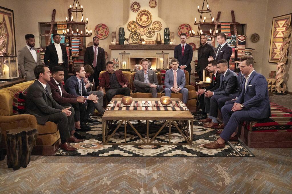 The Bachelorette Cast at the cocktail party; bachelorette season 17 episode 4 recap