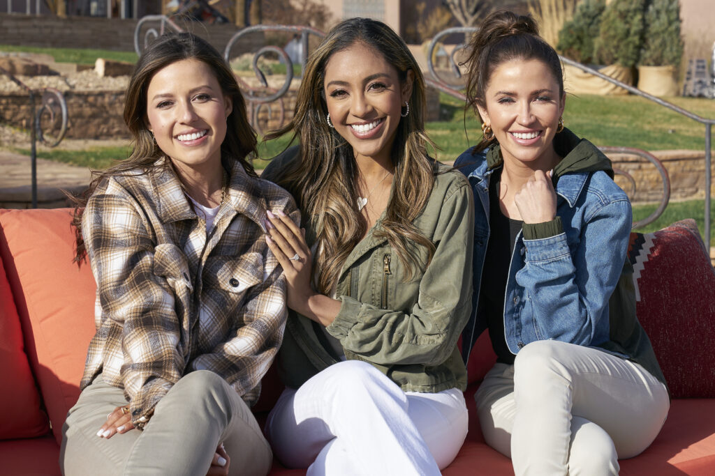 katie, tayshia, kaitlyn; the bachelorette