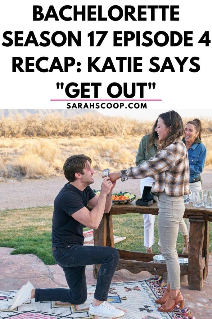 bachelorette season 17 episode 4 recap Pinterest image