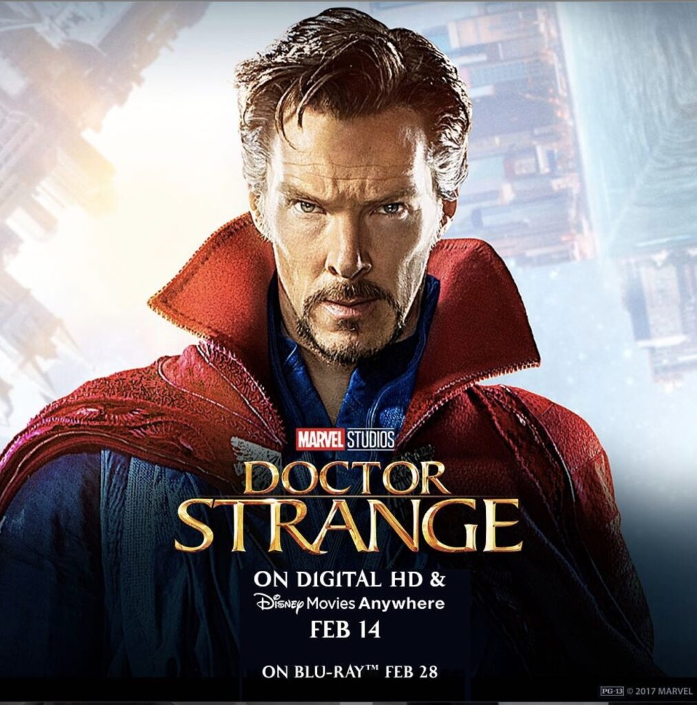 Doctor Strange Marvel movie poster