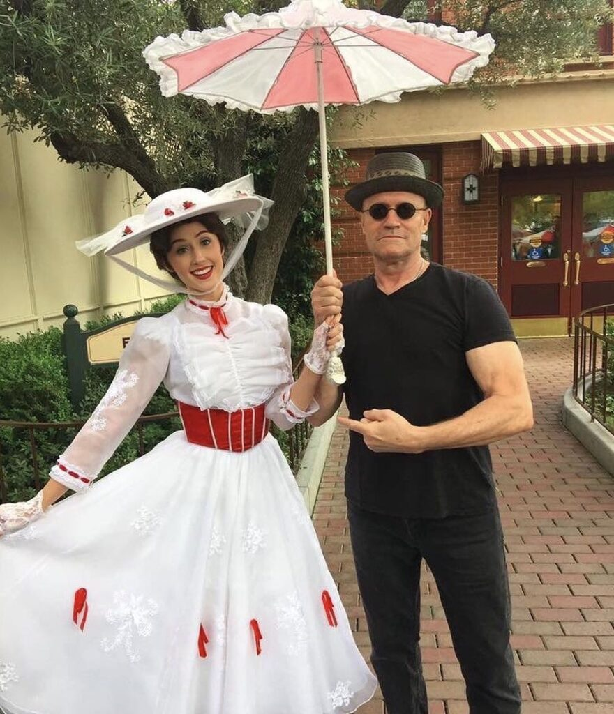 Actor Michael Rooker at Disney meeting Mary Poppins
