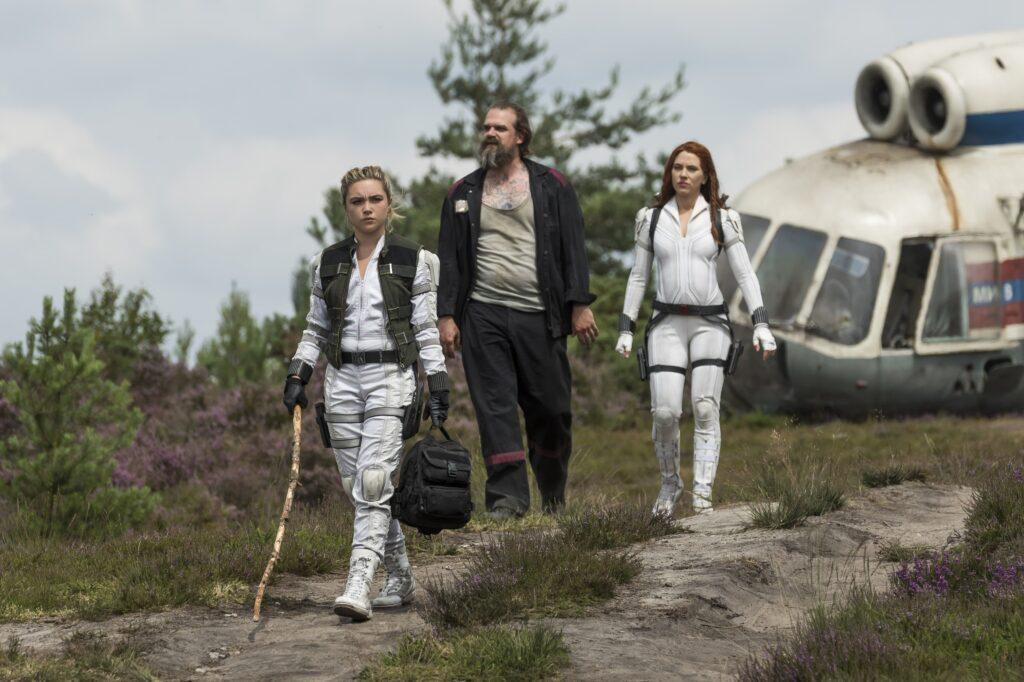 Yelena, Alexei, and Natasha