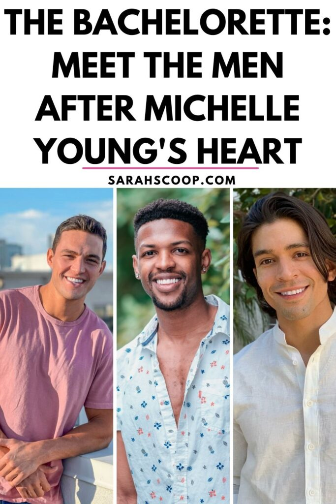 The Bachelorette cast Pinterest photo