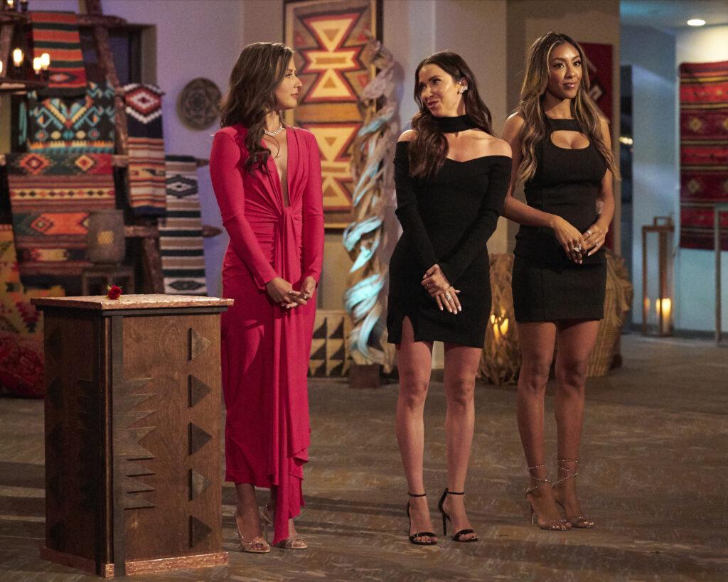KATIE THURSTON, KAITLYN BRISTOWE, TAYSHIA ADAMS; The Bachelorette season 17 episode 7 recap