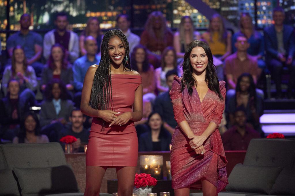 tayshia and kaitlyn; the bachelorette