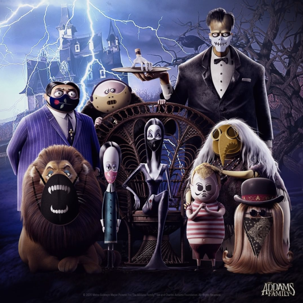 The Addams Family; best horror movies for tweens