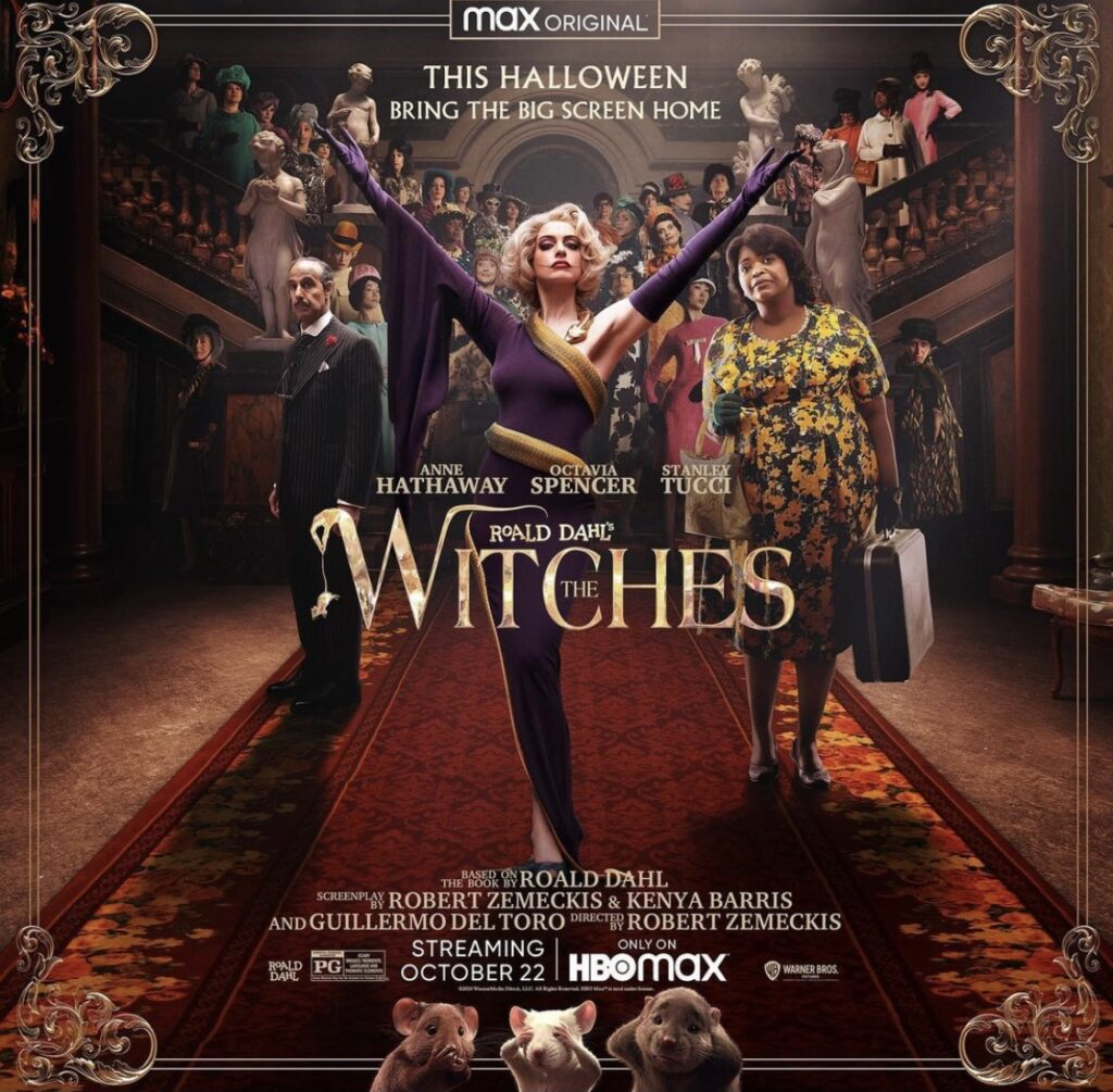 The Witches; best horror movies for tweens