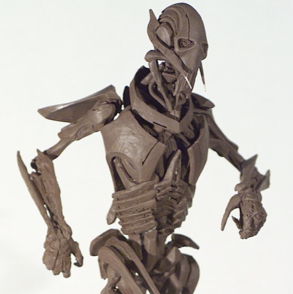 General Grievous clay figure; General Grievous Quotes