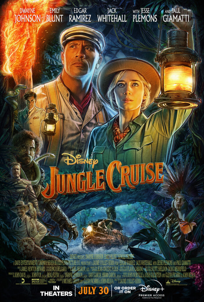jungle cruise review; poster