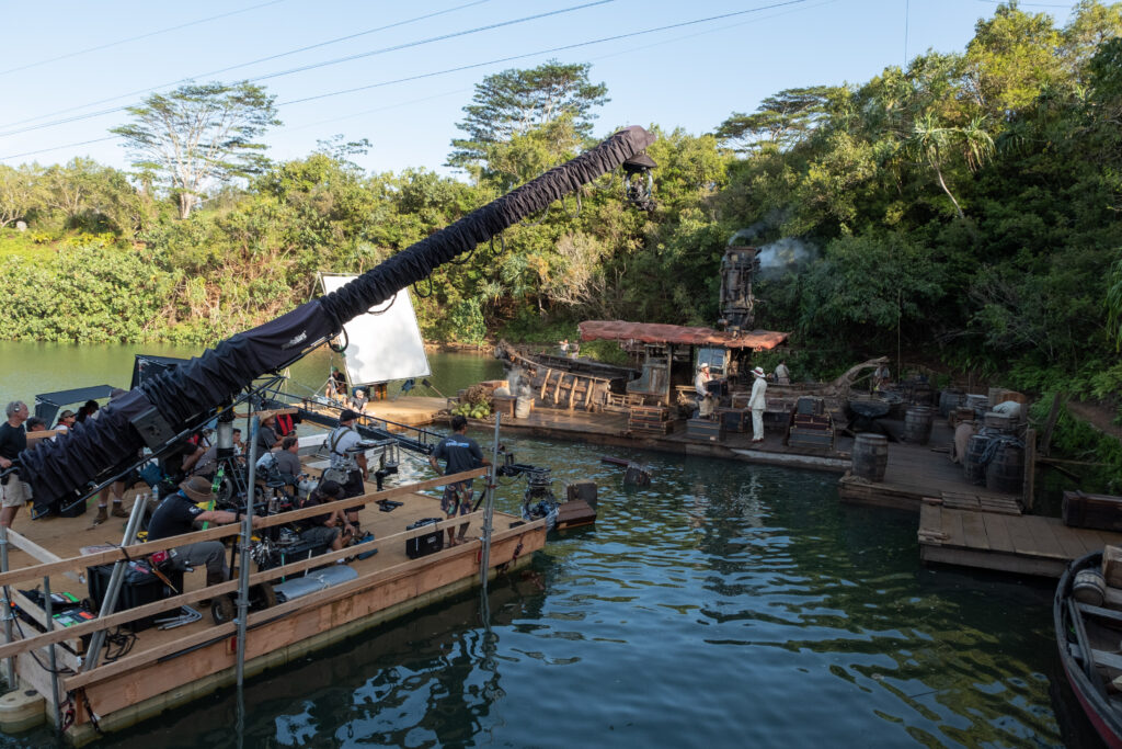 jungle cruise behind the scenes; interview