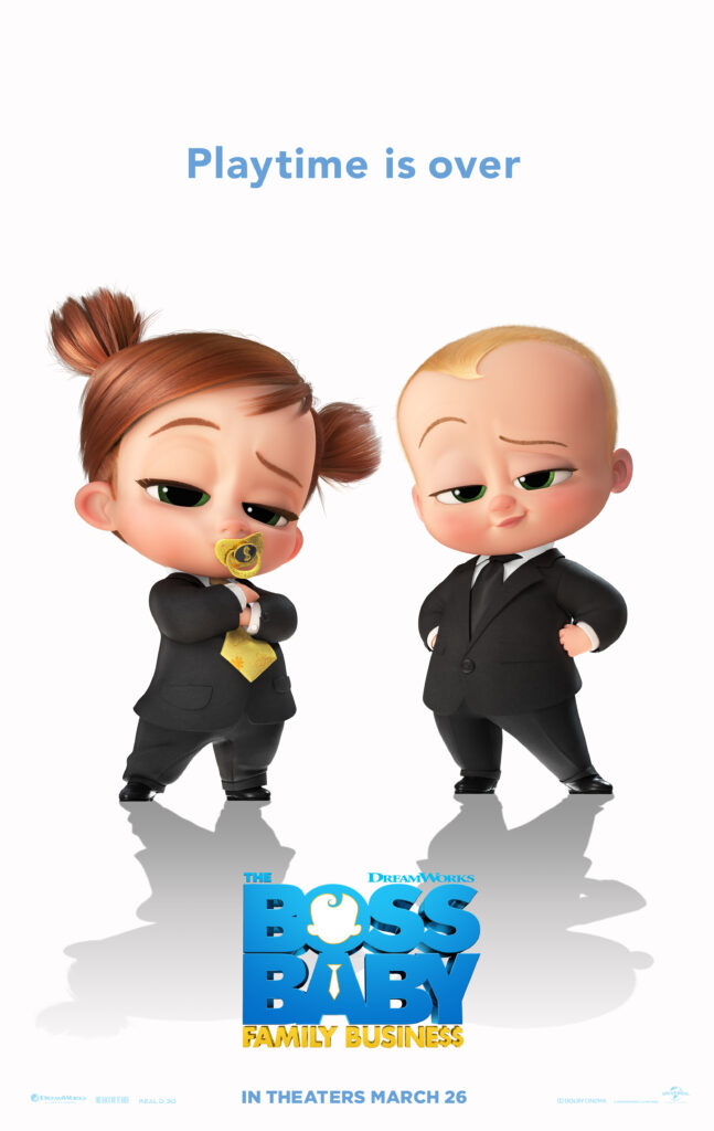 Boss Baby 2 poster; Boss Baby quotes