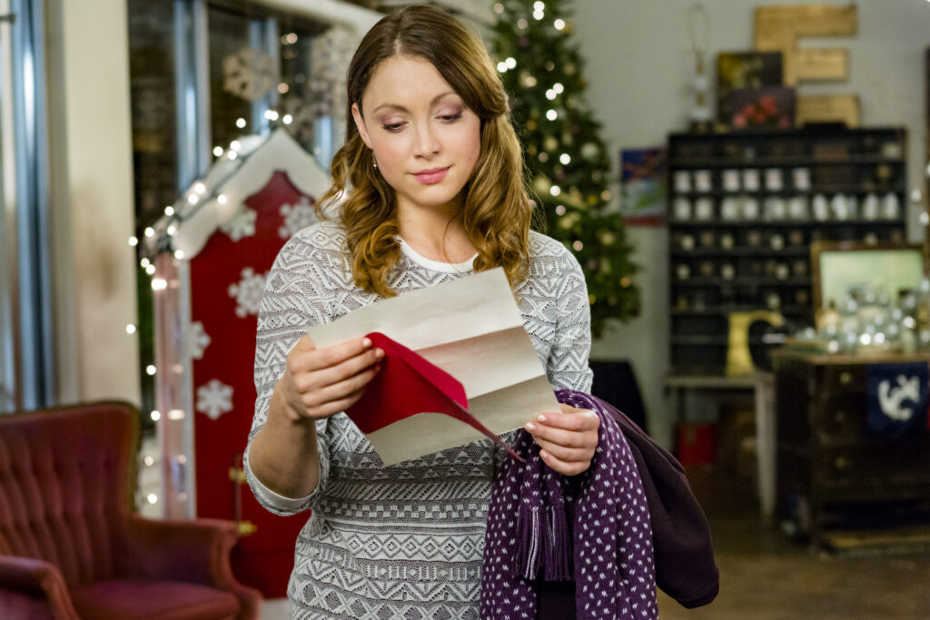the christmas note hallmark