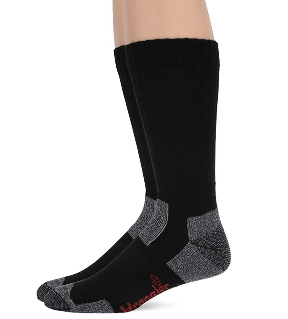 wrangler socks; best socks to wear with steel toed boots