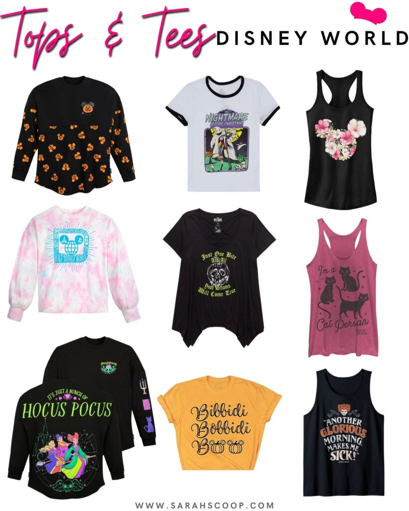 what to wear to disney world in october tops