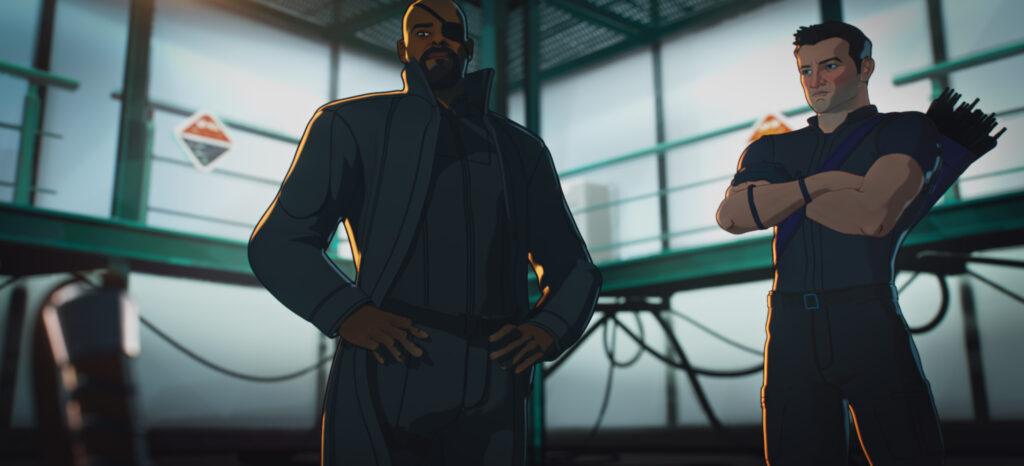 Nick Fury & Hawkeye