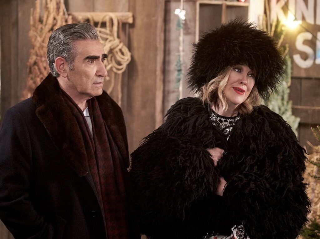 Johnny and Moira; Schitt's Creek quotes