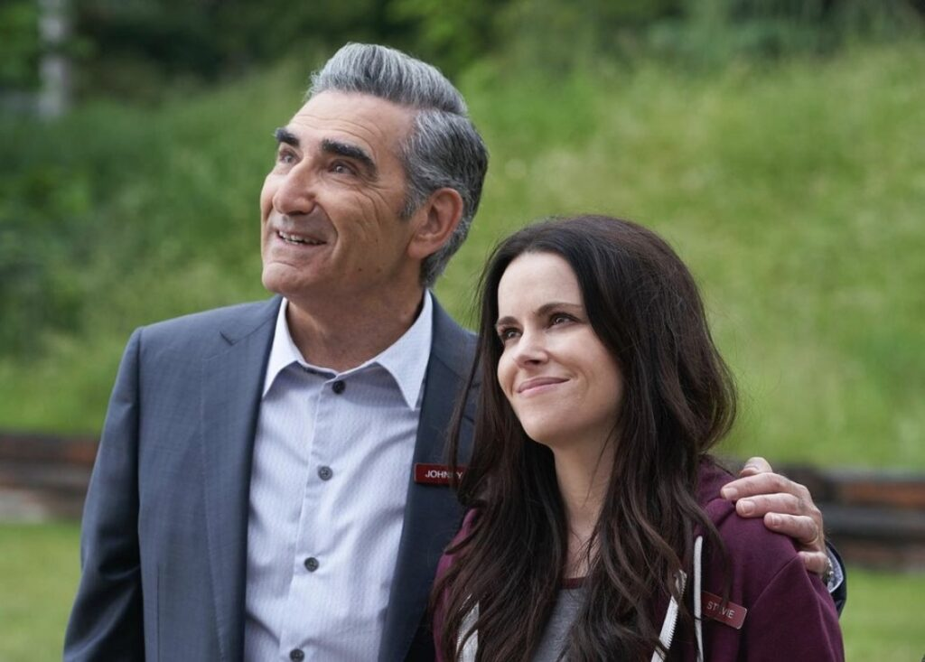 Johnny and Stevie; Schitt's Creek quotes