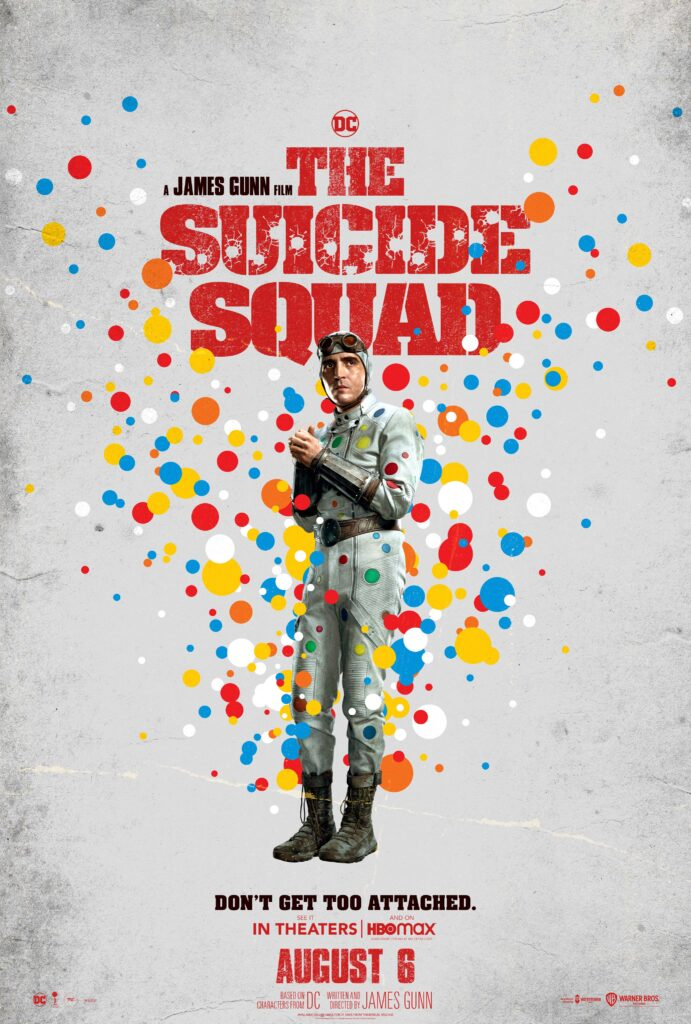 polka-dot man; The Suicide Squad quotes;